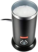Bodum 11870-01US Bistro Electric Milk Frother, 10 Ounce, Black