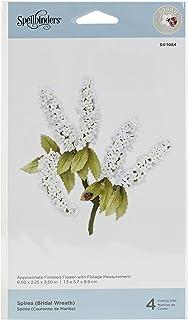 Spellbinders Spirea (Bridal Wreath) Dies Spring Flora by Susan Tierney-Cockburn Etched Die Set, Metal