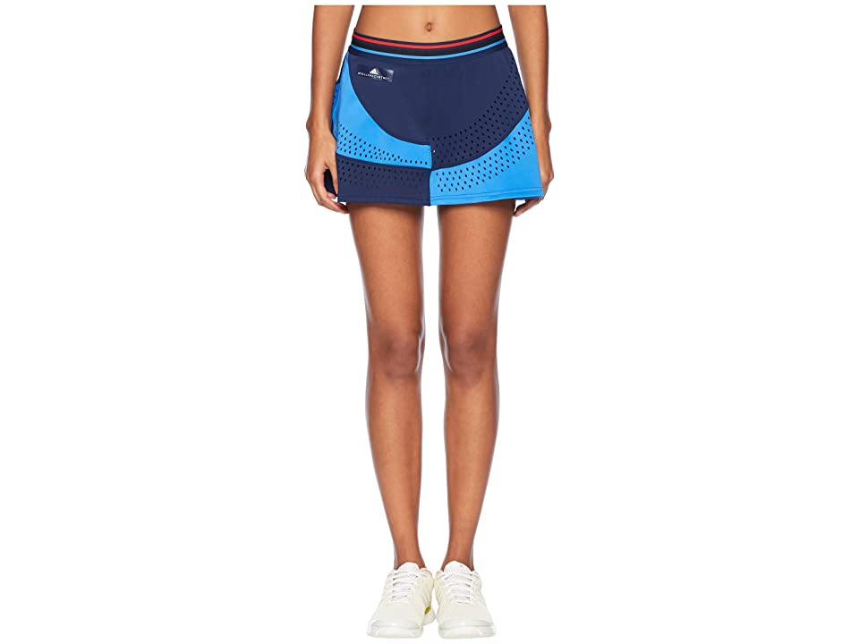 adidas Stella McCartney Q4 Skirt (Night Indigo/Ray Blue) Women