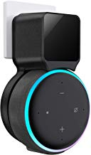 Outlet Wall Mount Holder for Echo Dot 3rd Generation, Belkertech Space-Saving Accessories for Dot (3rd Gen) Smart Speakers, Clever Echo Dot Accessories with Built-in Cable Management Hide Messy Wires