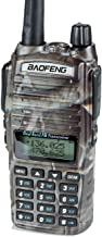 BaoFeng UV-82HP (CAMO) High Power Dual Band Radio: 136-174mhz (VHF) 400-520mhz (UHF)..