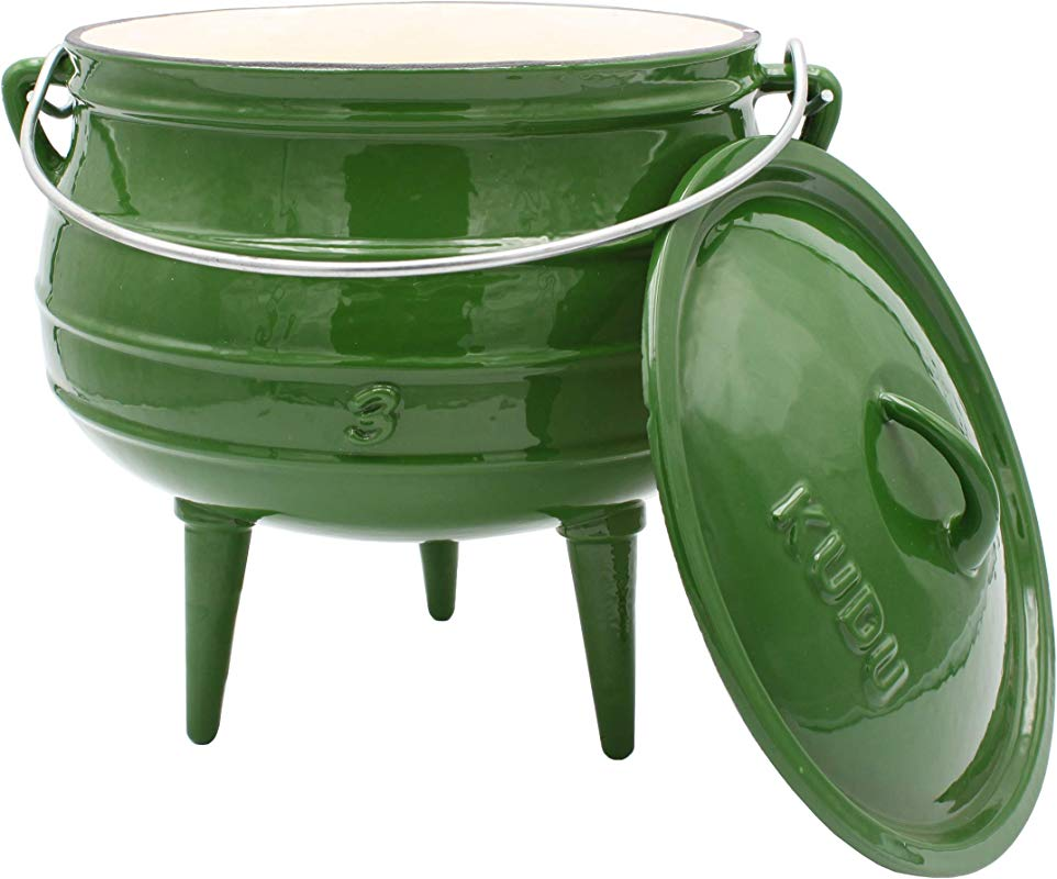 KUDU Enamel Dutch Oven No 3 Potjie