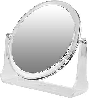 Rucci Round Acrylic Stand Mirror, 5X