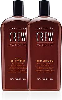 American Crew Daily Moisturizing Shampoo & Daily Conditioner 33.8 fl oz (2 Pack), 67.6 fl. oz.
