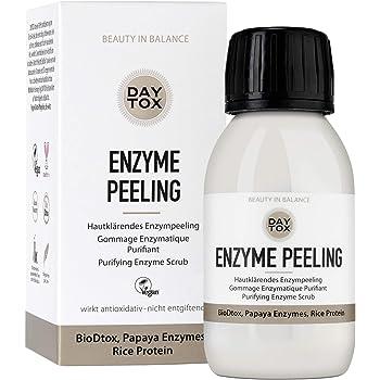 DAYTOX - Enzyme Peeling - Hautklärendes Enzymepeeling für das Gesicht - Vegan, ohne Farbstoffe, silikonfrei und parabenfrei - 35 g