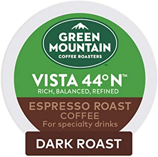 Keurig Green Mountain Coffee Roasters Vista 44°N Espresso Roast Coffee, Single-Serve..