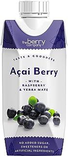 The Berry Company Acai Juice Blend with Raspberry & Yerba Matte, 330 ml