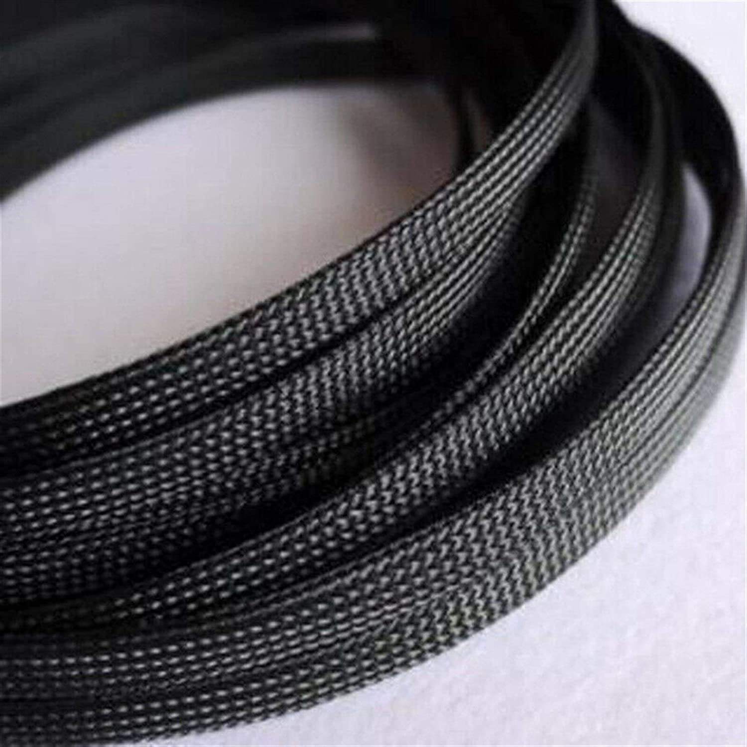 Cable Tidy Sleeves 1-20M online shopping Max 59% OFF Black 3-100mm Snakeskin
