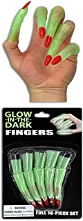 GLOW FINGERS - One set of 10 fingers