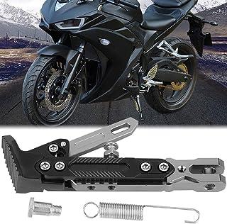Suporte lateral antiderrapante para motocicleta, suporte para motocicleta, alumínio para scooter de motocicleta