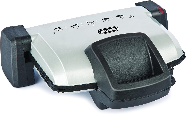 buen precio Mulex 210318 G Parrilla y y y sandwichera MX 025, gris  ahorra hasta un 70%