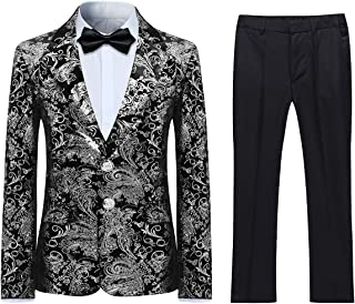 Best black and silver suit Reviews