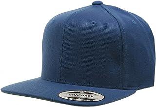 43e5641ce89af8 Original Yupoong Pro-style Wool Blend Snapback Blank Hat Baseball Cap 6098m  - Navy