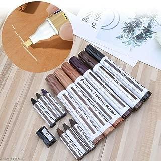Fewxdsad Kit di 17 pennarelli e bastoncini di riempimento per mobili