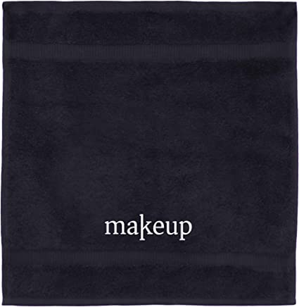 featured product Luxury Black Cloth Turkish Cotton Make up Cleansing (Set of 6)