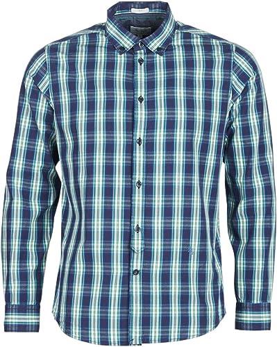 Pepe Jeans Chemise l'homme Bleu Chandler