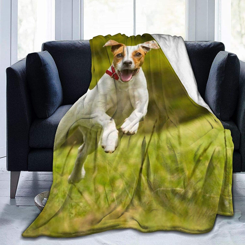 All stores are sold Throw Blanket Under blast sales - Jack Super Terrier Fleece Russell