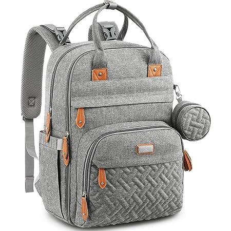 baby bag Matte black diaper baby bag minimalist nappy bag mama stroller backpack unisex school college bag,laptop vegan materials