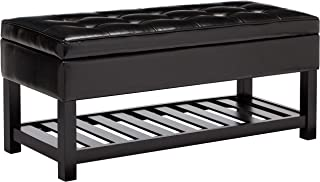 Best storage ottoman with feet Reviews