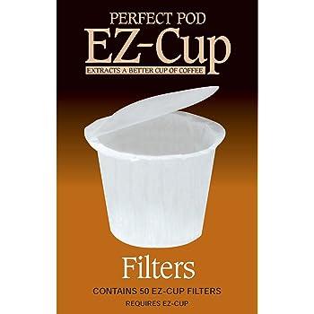 Keurig K-Cup  EZ-カップ用フィルタ50個 並行輸入品