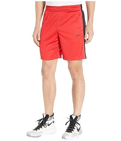 Nike Dry Shorts Essential (University Red/Black/Dark Smoke Grey) Women