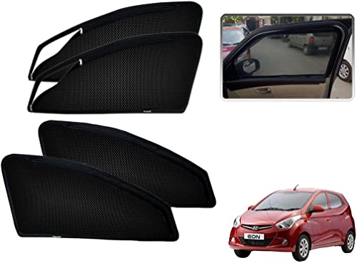 Kozdiko Zipper Magnetic Sunshade for Hyundai Eon