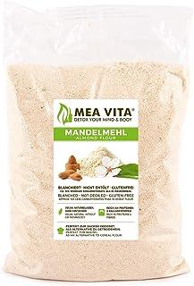comprar comparacion Meavita Harina De Almendras Natural, Blanqueada, En Bolsa, 1 Paquete (1 X 1000 g)