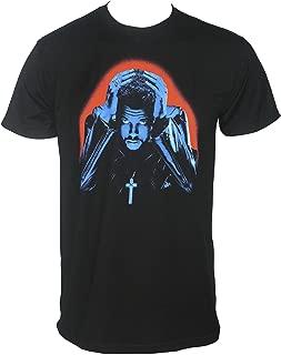 The Weeknd Men's Starboy Album Cover T-Shirt Black