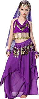Belly Dancer Costumes for Girls Kids Halloween Outfit