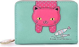 Borsa GATTO Nuovo Venditore di UK portamonete zip soffici regalo gattino Wallet Pouch stile 3