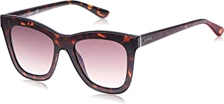 GUESS Unisex Adults' GU7526 52F 52 Sunglasses, Brown (Avana Scura/Marrone Grad)