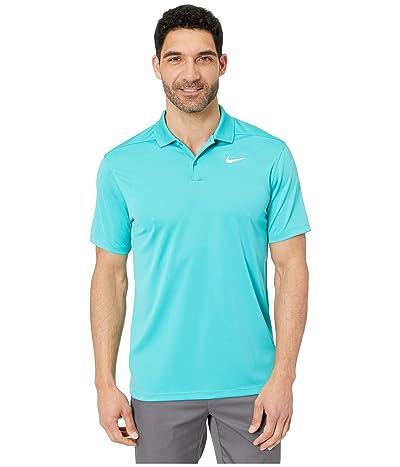 Nike Golf Dri-FITtm Victory Polo (Cabana/White) Men