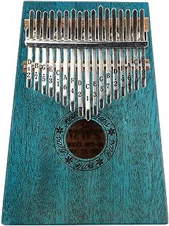HENGTONGWANDA Thumb Piano, Kalimba, 17-tone, 10-tone Finger Piano, Beginner Entry Portable Instrument (Size : H)