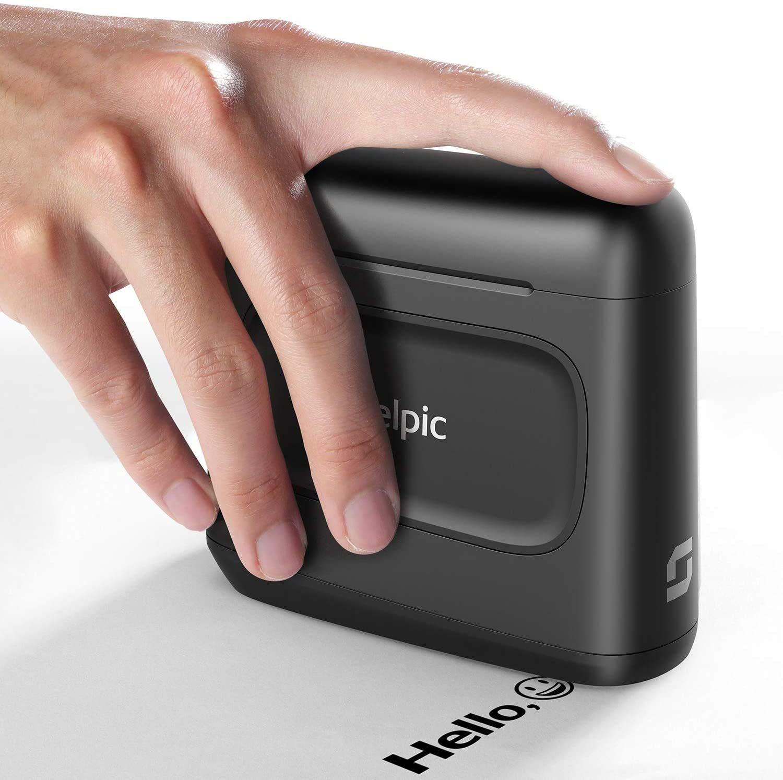 Selpic S1 Mini Impresora Inteligente de Inyección de Tinta de Secado Rápido y Impermeable, Imprimir en Madera, Tela, Ropa y Otras Superficies, para Texto Personalizado, Tatuajes y Códigos QR: Amazon.es: Electrónica