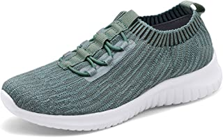 aa599a15603a TIOSEBON Womens Trainers Lightweight Walking Running Shoes - Casual Mesh  Breathable Sneakers