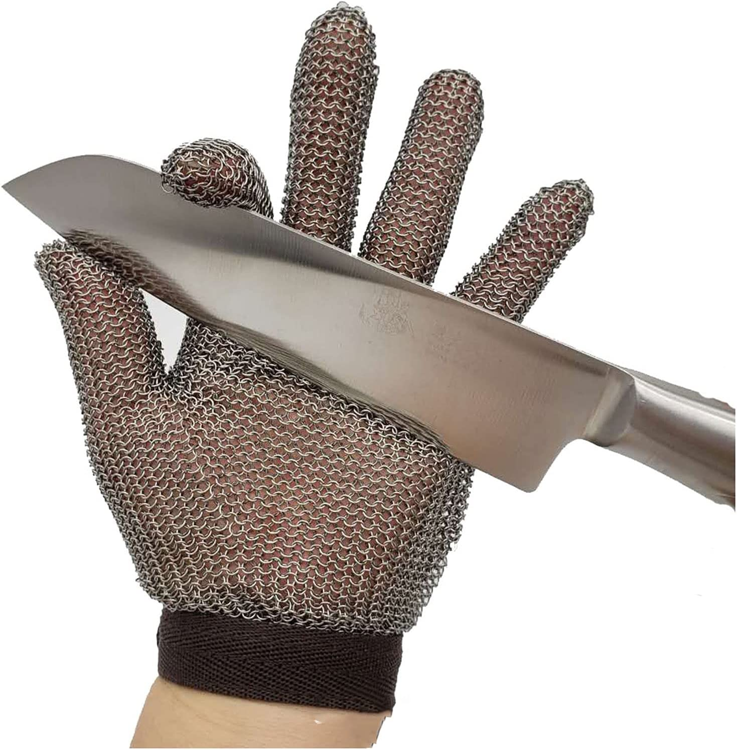 Steel wire gloves Kitchen Japan Maker New Gloves Stainless Cut-Resistant Quantity limited