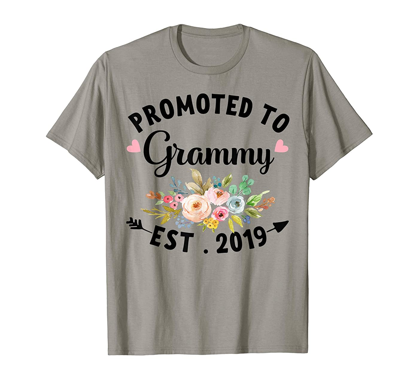 Promoted to Grammy est 2019 Baby announcement Shirt