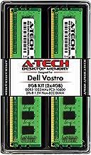 A-Tech 8GB RAM Kit for Dell Vostro 460, 430, 260, 260s   (2 x 4GB) DDR3 1333MHz PC3-10600 240-Pin Non-ECC DIMM Memory Upgrade