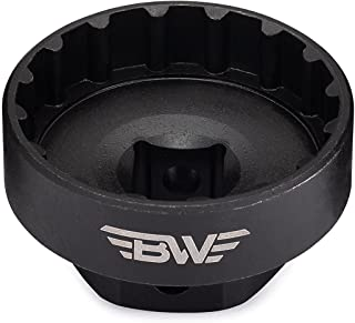 BW Bicycles External Bottom Bracket Removal Tool – Compatible with Shimano Hollowtech II, Truvative GXP, FSA Mega Expo and Other External Bearing Bottom Brackets