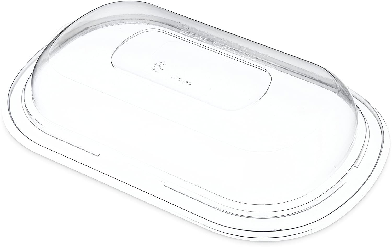 Dinex DXL800PDCLR Dome Lid for New Free Shipping Charlotte Mall Microwaveable Pol Medium Entrees