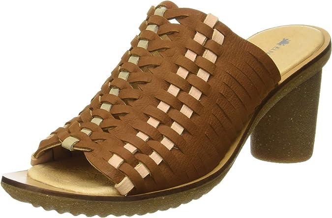TALLA 38 EU. El Naturalista Trivia N5162, Zapatos de tacón con Punta Abierta Mujer