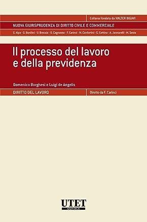 Il processo del lavoro e della previdenza