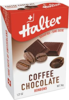 Halter Sugar-Free Coffee Chocolate Filled Bonbons(16 Pieces)