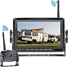 Yakry Y31 HD 960P Digital Wireless Backup Camera for RVs,Trucks,Trailers,Motorhomes with 7'' Monitor Kit Rear View System High-Speed Observation