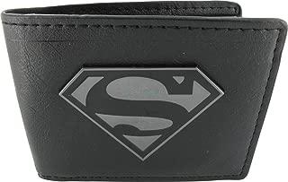 superman wallet black