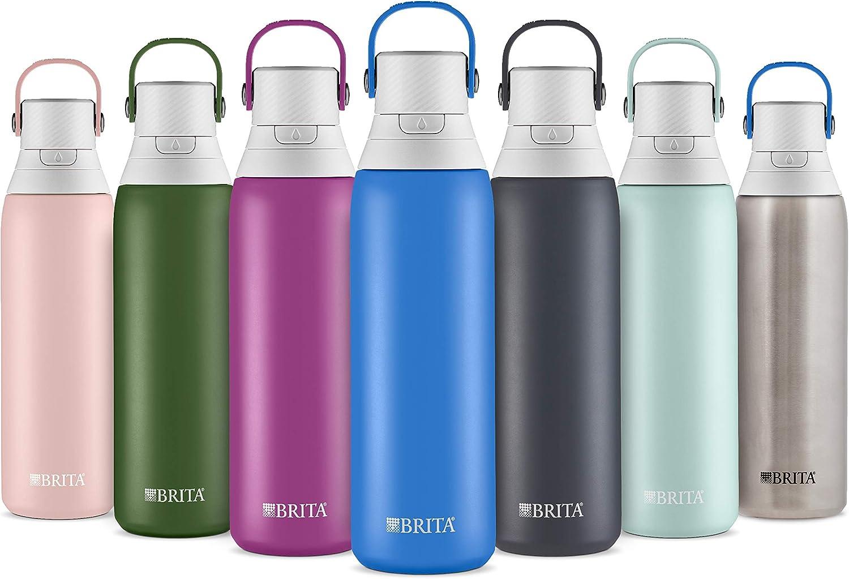 Edelstahl Carbon Brita 36404 Premium Trinkflasche mit Filter