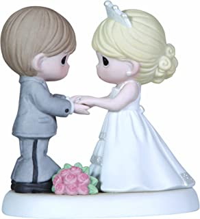 Precious Moments, From This Day Forward Bisque Porcelain Figurine, 123017