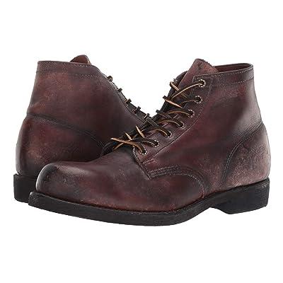 Frye Prison Boot (Dark Brown) Men