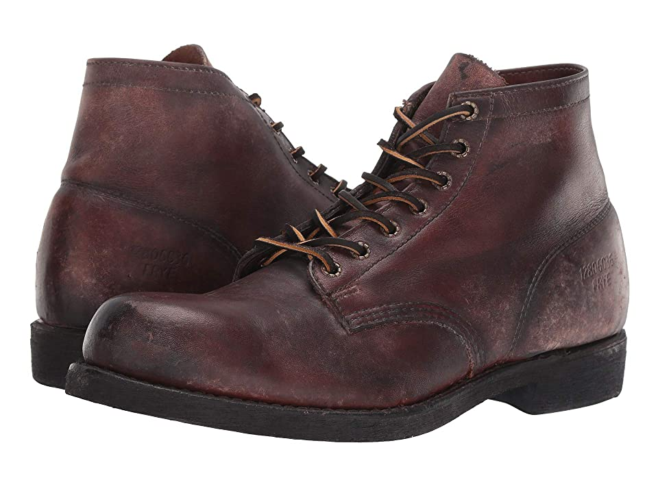 Frye Prison Boot (Dark Brown) Men