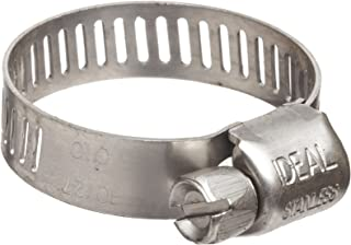 PrePrecision Brand M10S Micro Seal, Miniature All Stainless Worm Gear Hose Clamp, 1/2